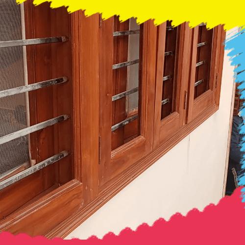 Window with great paint finishing Rang Rogan Wala Gurgaon